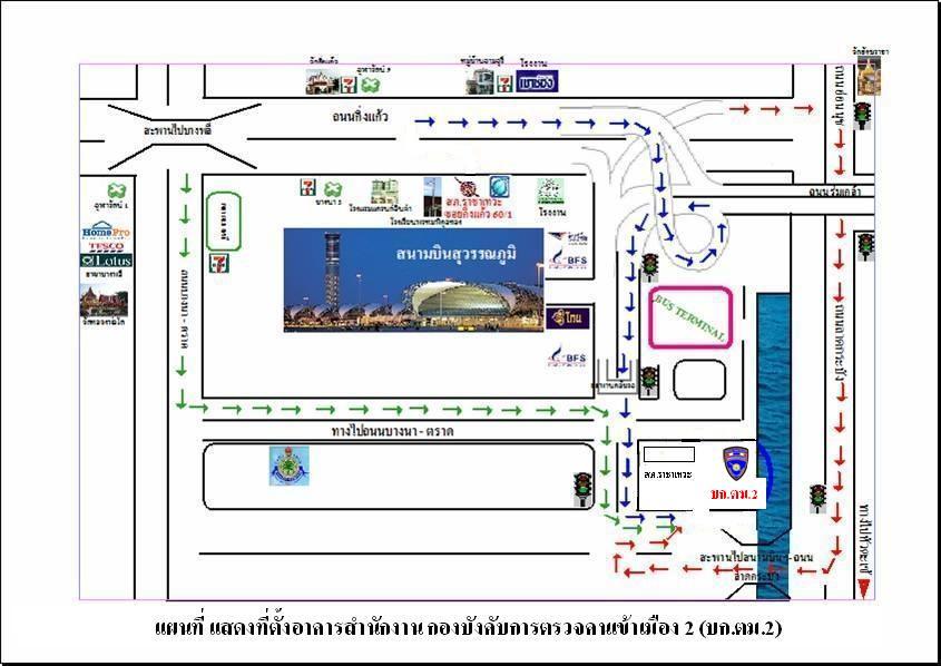 Thai Visa Buriram Expats - Us embassy bangkok map